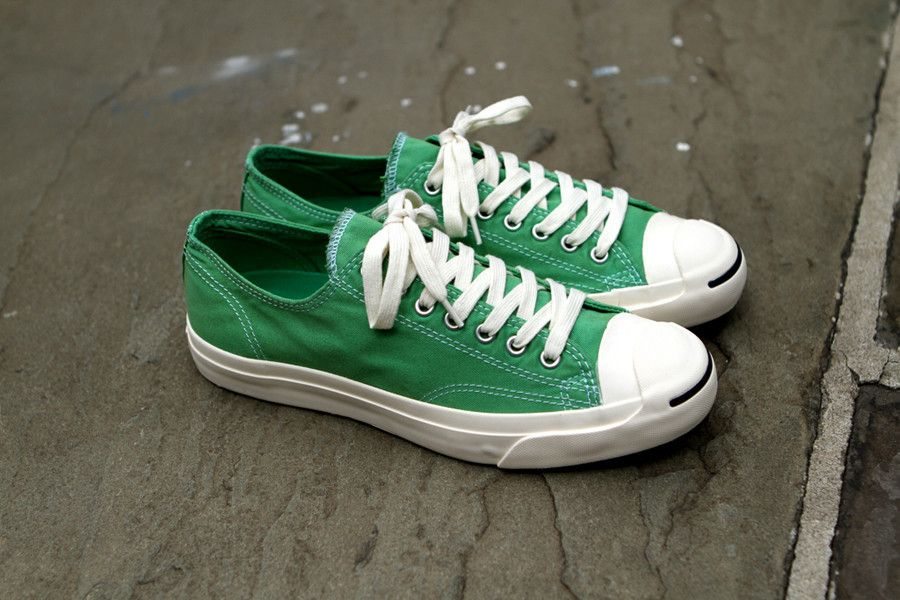06ca2263ba62cc Converse Jack Purcell Garment Dye - Kelly Green