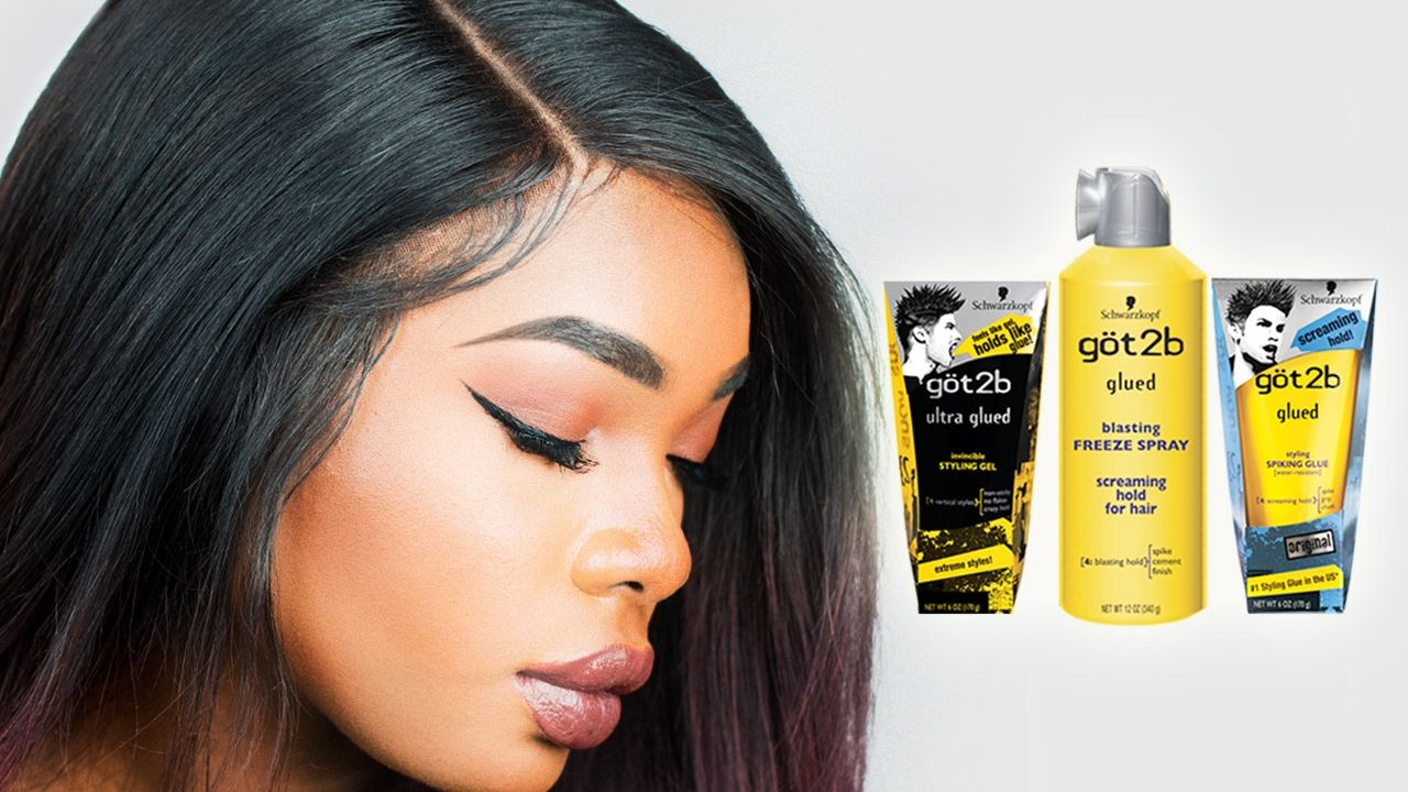 HOW TO USE GOT2B GLUED GEL FOR LACE FRONT WIGS