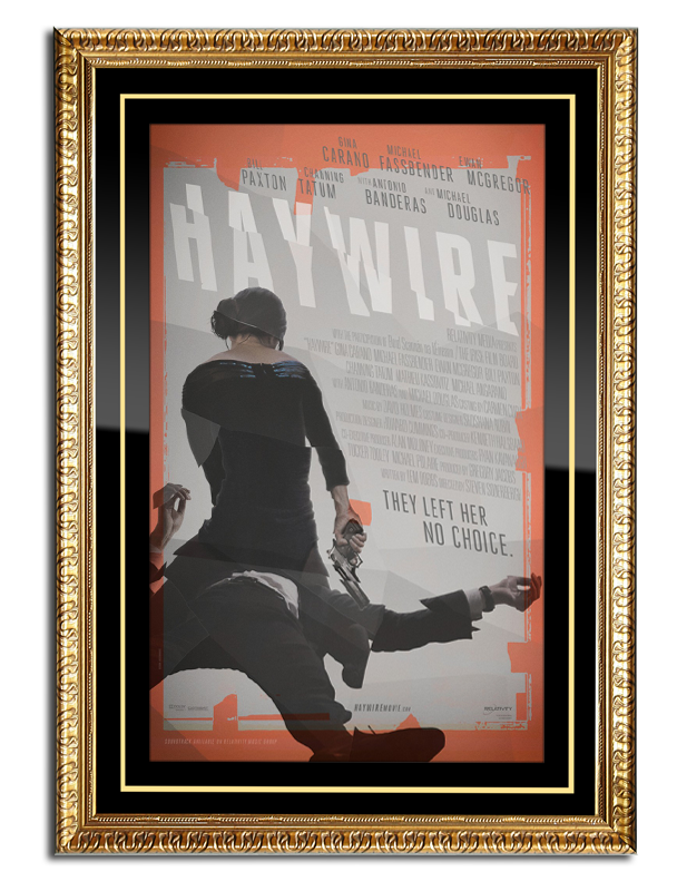 Artistic Movie Poster Frame Movie Poster Cases And Marquees