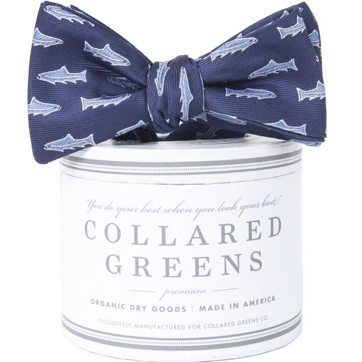 Trout Bow in Navy by Collared Greens