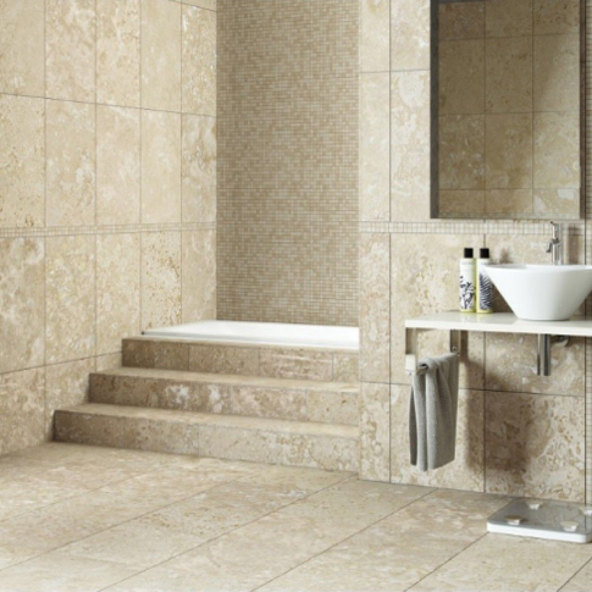 Boxed Select Travertine H F 457mm X 305mm Natural Stone Tile