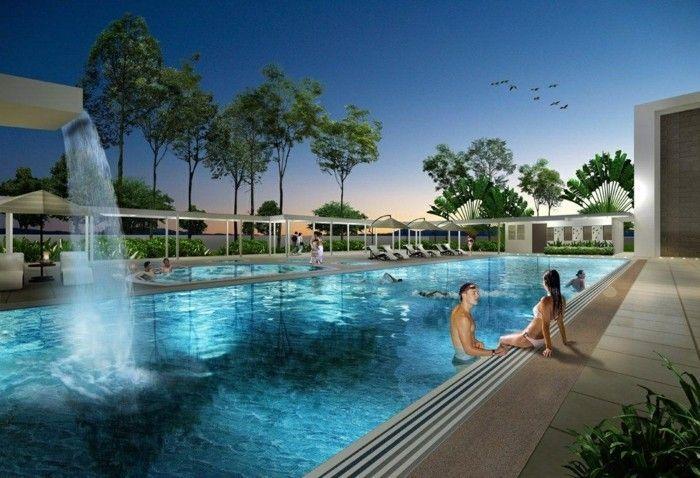 Great luxus pool family pool f r den garten