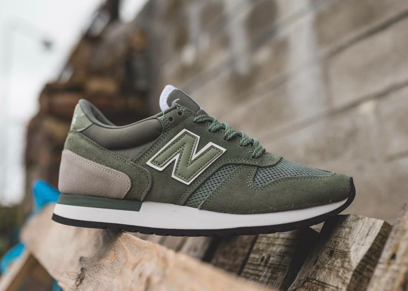 size 40 eee30 a502f New Balance 770  Green Green New Balance, New Balance Shoes