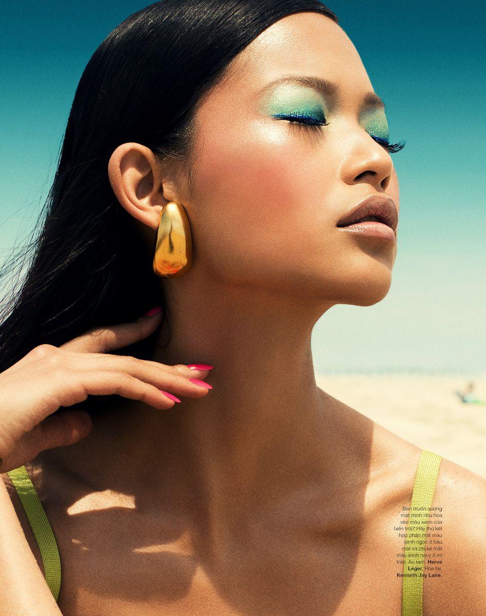 Bazaar Beauty Editorial Makeup by Anneliese Tieck