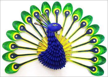 Diy how to make beautiful peacock with plastic spoon pinterest diy home decor how to make beautiful peacock with plastic spoon do it yourself ideas recycled art solutioingenieria Choice Image