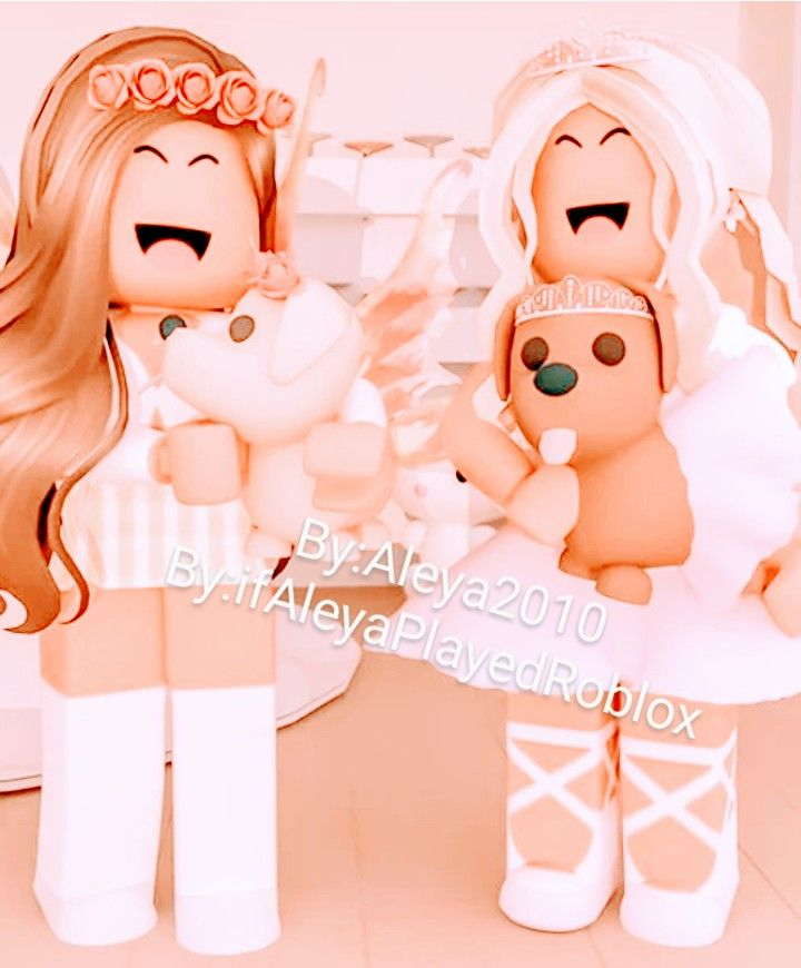 Cute Princesses With There Dogs Roblox Animation Cute Tumblr Wallpaper Roblox Pictures