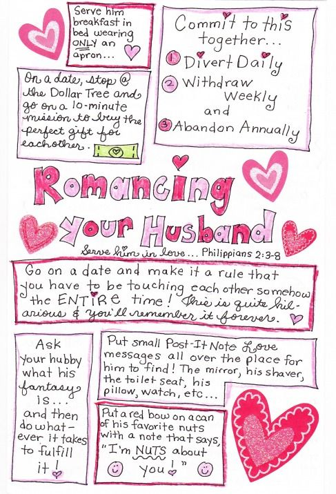 The 25 Days Of Love Fun Day 11 Romancing The Happy Hubby Part 1