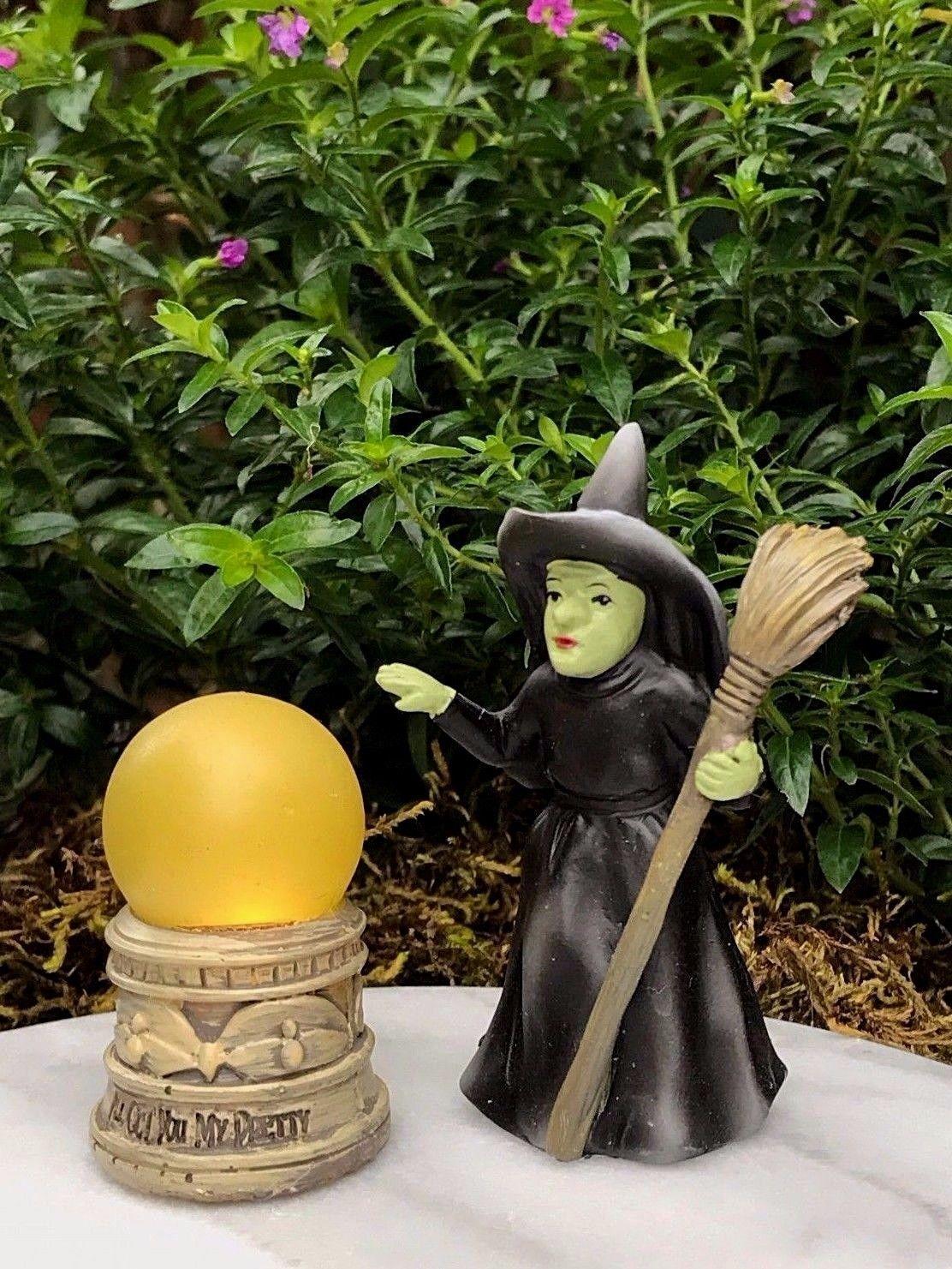 $9 56 - Miniature Dollhouse Fairy Garden Wizard Of Oz Wicked