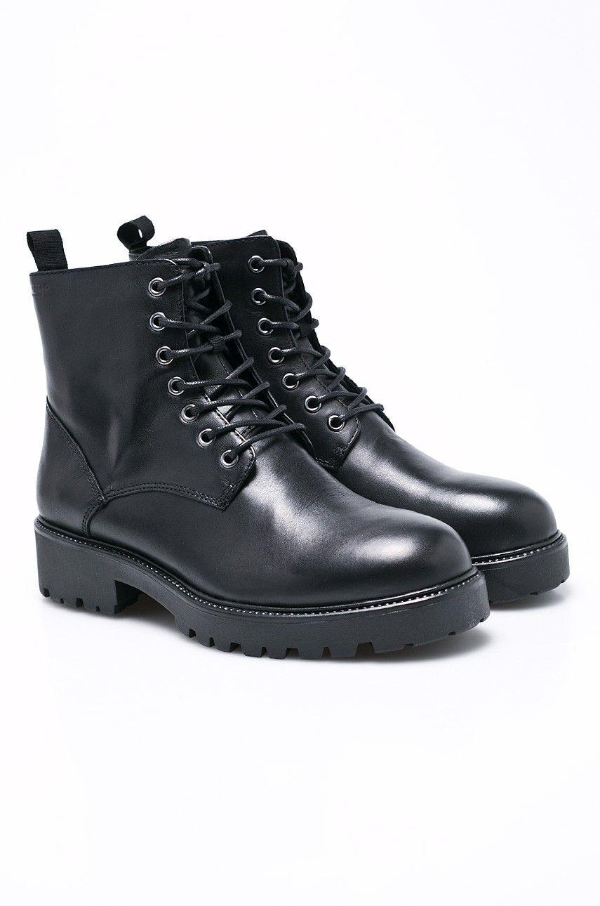 Vagabond Botki Combat Boots Boots Shoes