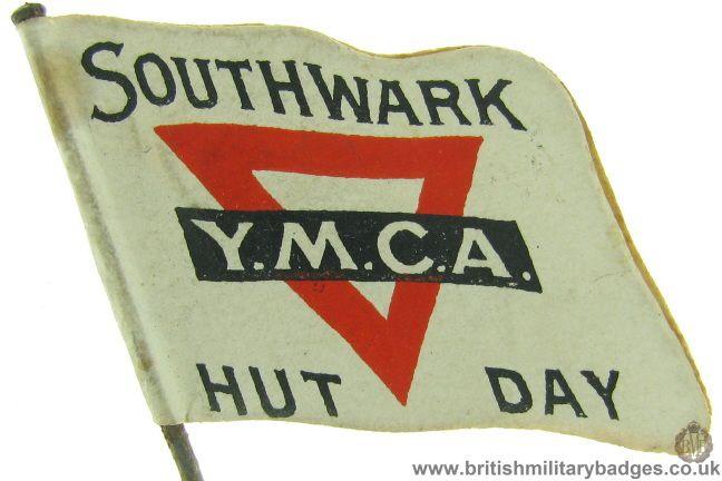 Southwark YMCA. WW1 Fundraising Flag Day