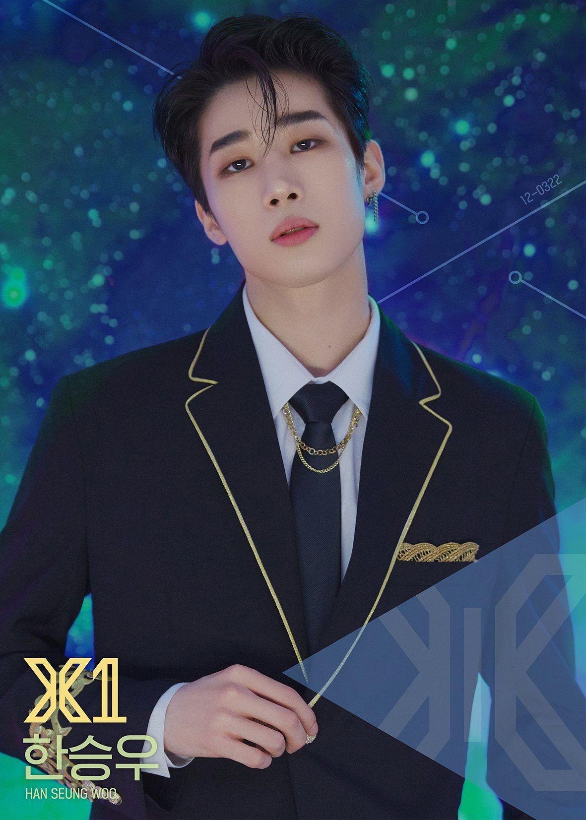 Seungwoo Han 94 Liner Victon Produce 101 Korean Idol