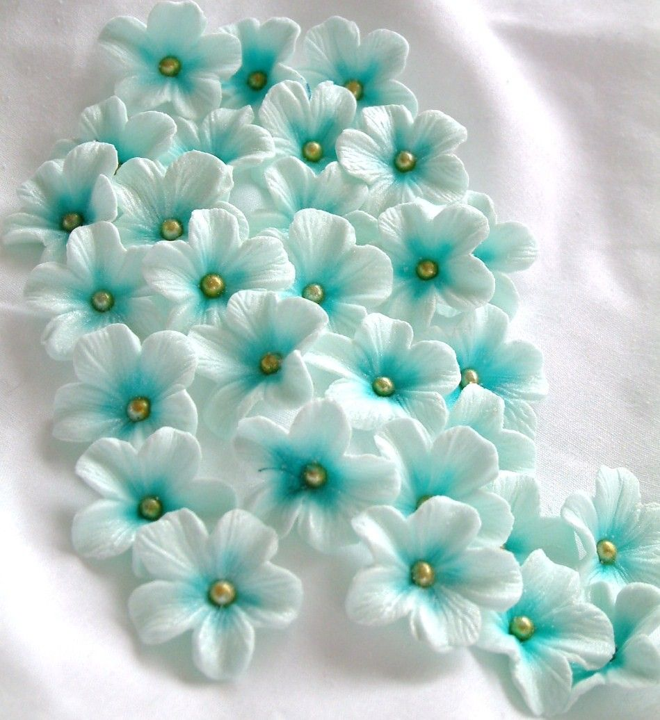 Gumpaste Flowers For Wedding Cakes: Gumpaste Cake Decorations Gum Paste Flowers 25 Piece Set