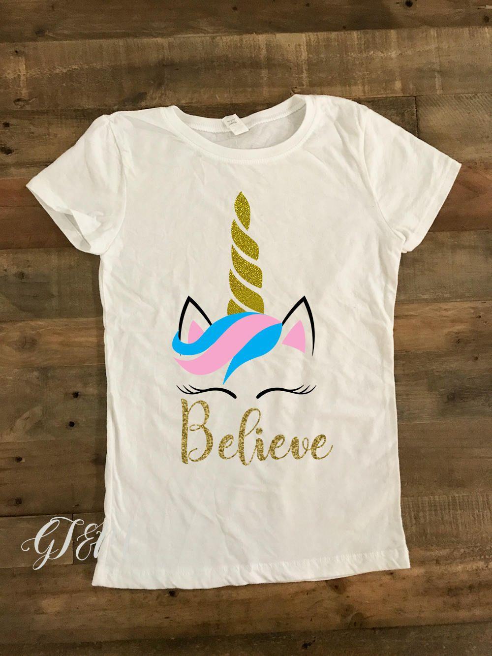 2aad7e18511a Girl s Unicorn T-Shirt