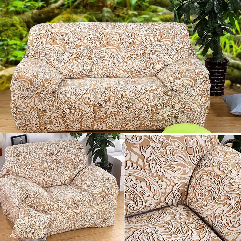 Arm Chair Loveseat Sofa Couch L Shape Golden Phoenix Protect Cover Slipcover