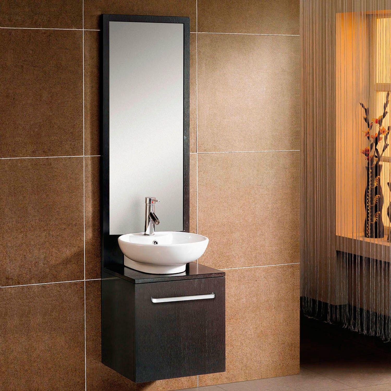 18 Decker Wall Mount Vessel Sink Vanity And Mirror Bathroom