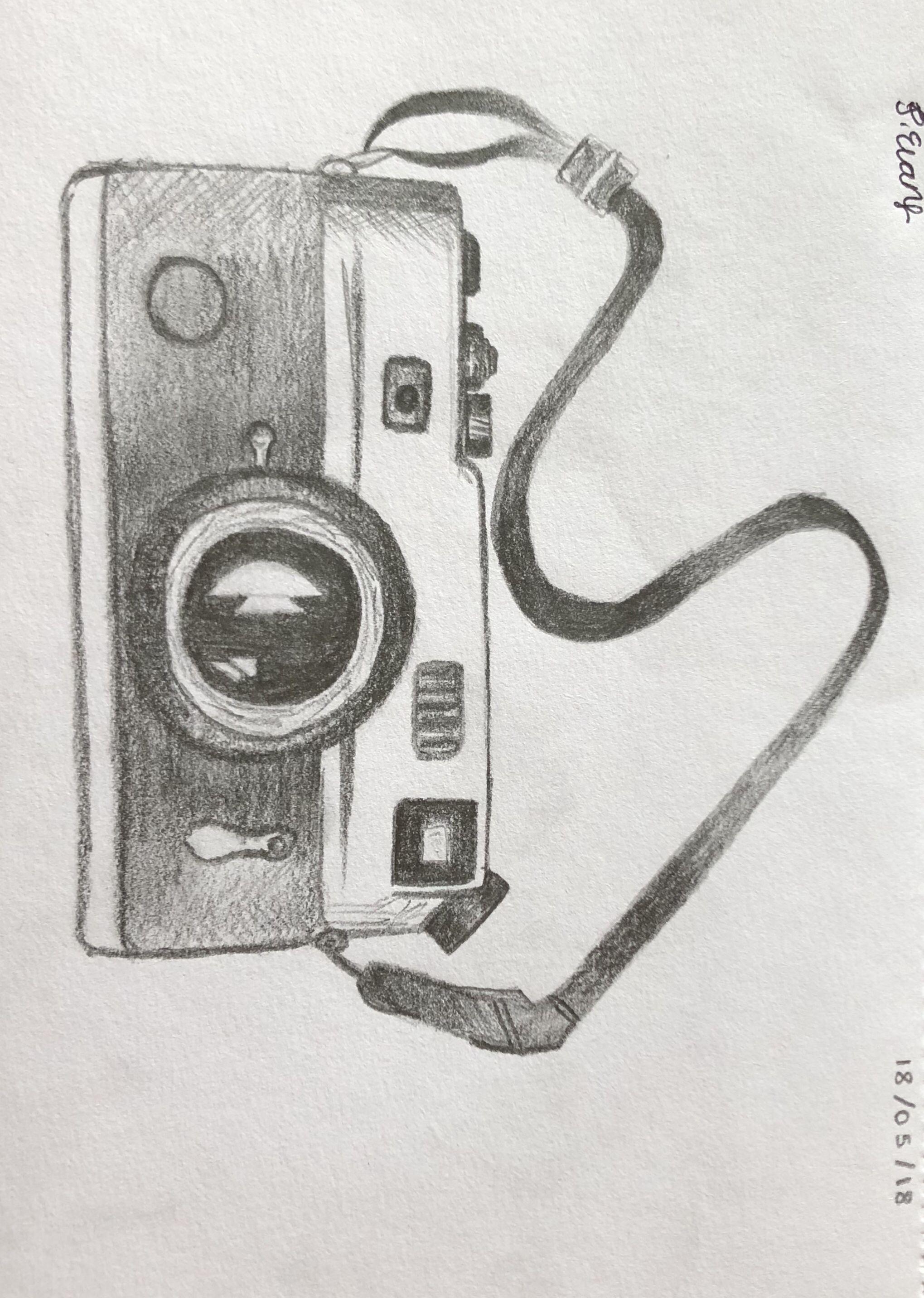 Pencil texture camera drawing comics story drawing sketches pencil drawings drawings