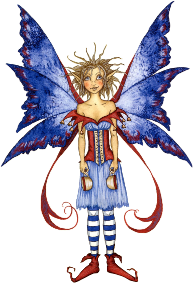 Amy Brown Coffee Fairy