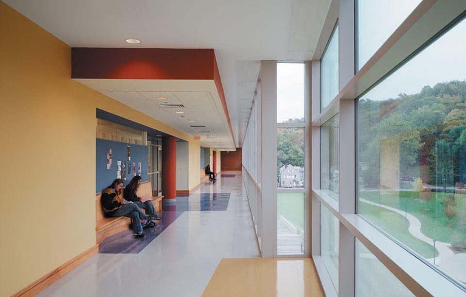 West Virginia University Life Sciences Building Life