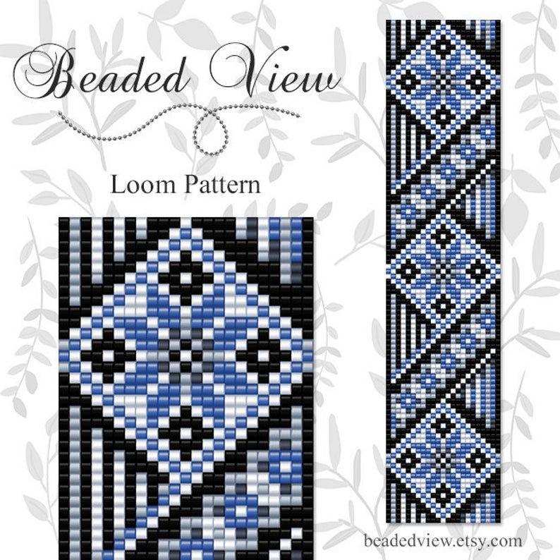Bead Loom Pattern Loom Bead Pattern Loom Bracelet Pattern
