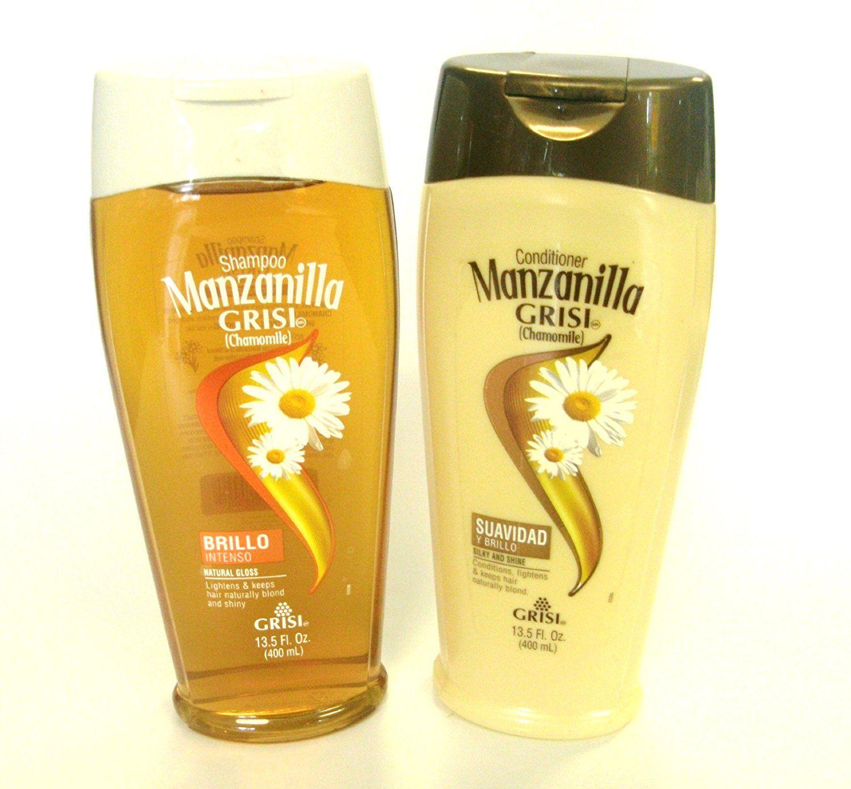 Manzanilla (Chamomille) Natural Gloss Shampoo and Silky