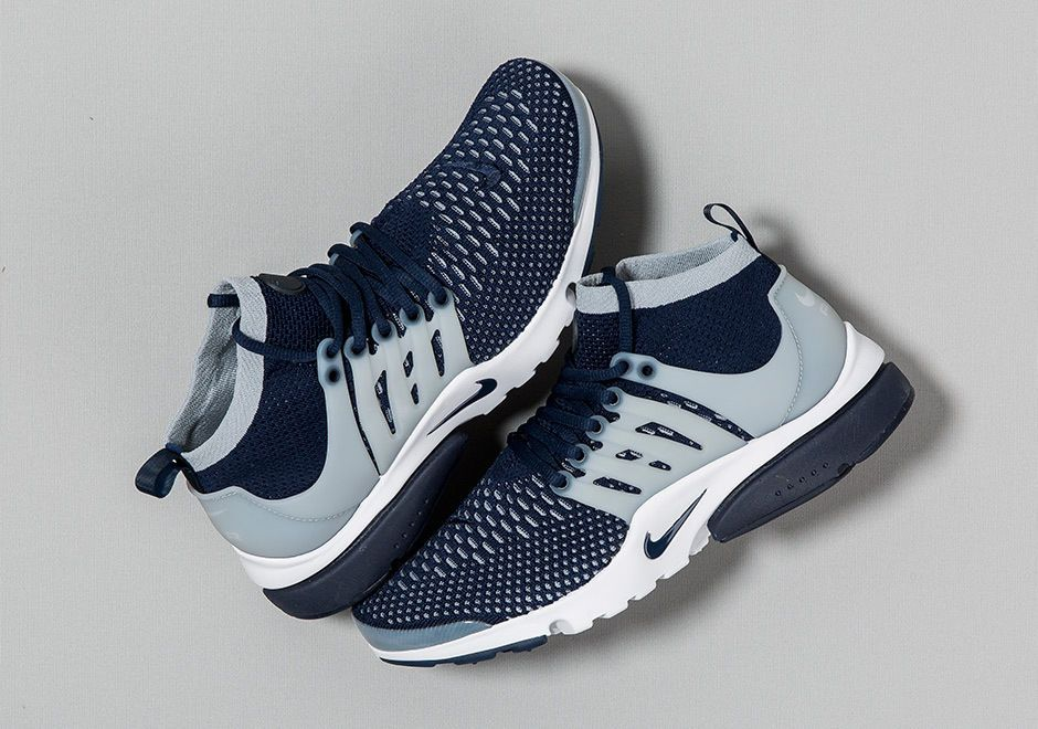 separation shoes d0e35 8b3e0 2016 Nike Air Presto Flyknit Ultra SZ 8.5 Navy College Navy-Wolf 835570-402