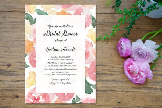 Hand Painted Watercolor Clipart - Pastel Bouquet  I hope you enjoy these hand painted watercolors! I absolutely adore all things floral, so