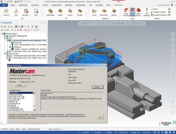 photo Program with Mastercam 2018 full license | CAD CAM CNC