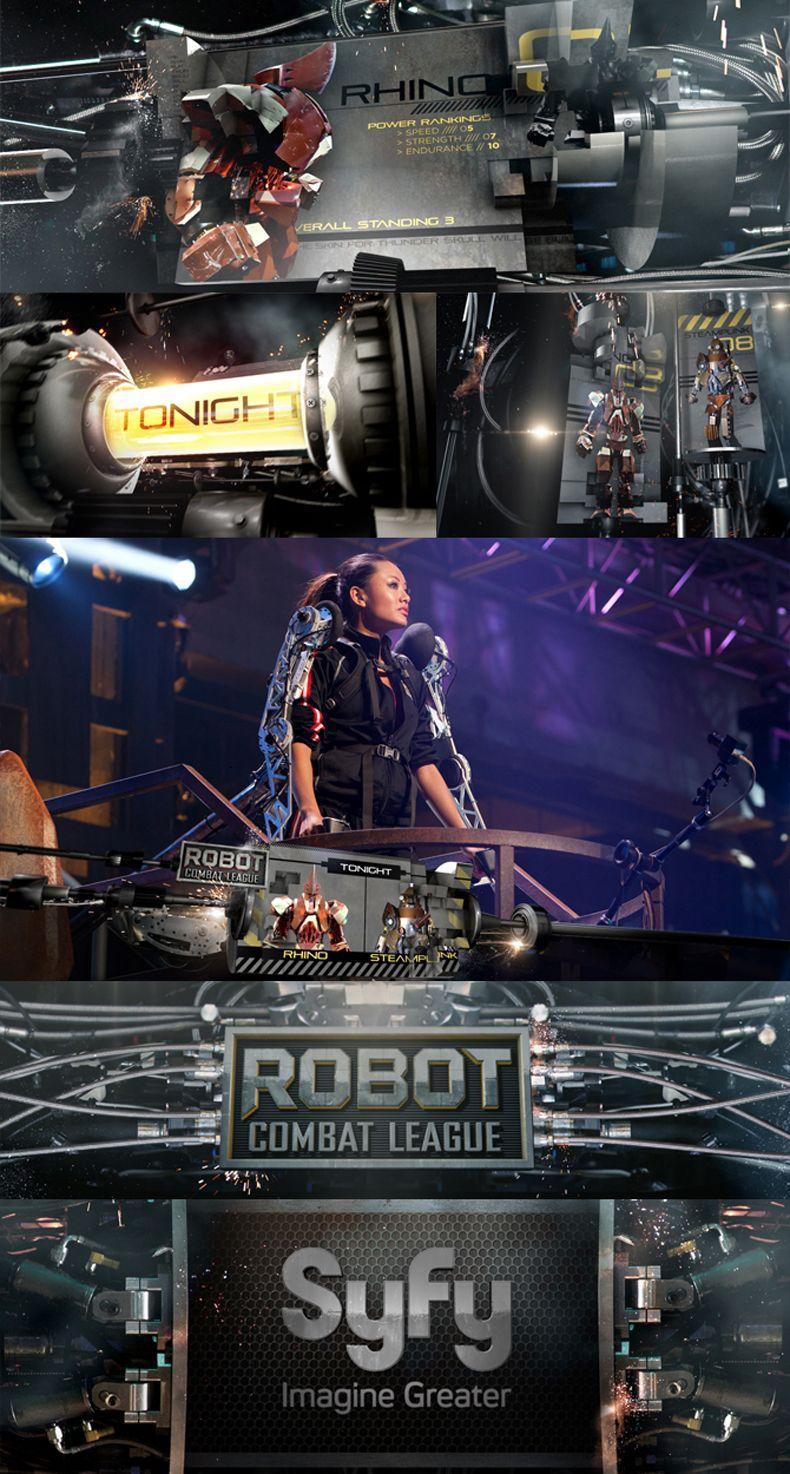 SyFy for robot combat league | Charlie Co.
