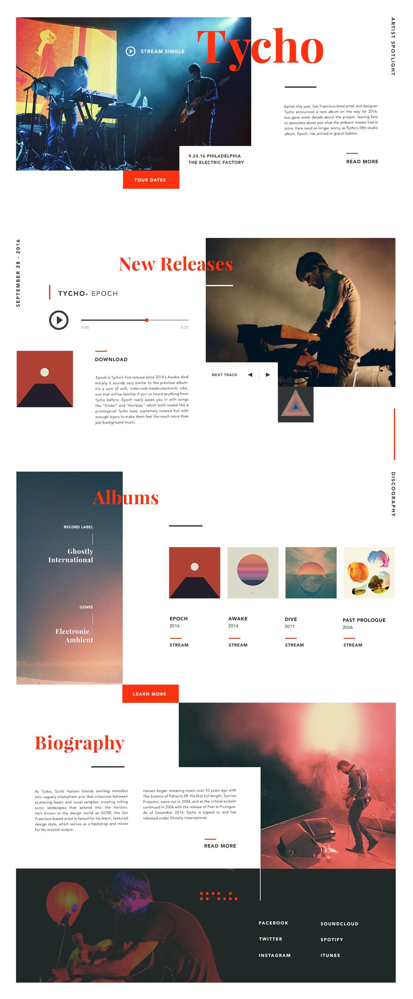 Unique Overlap Of Text On Top Of Images Portfolio Web Design Creative Web Design Website Design