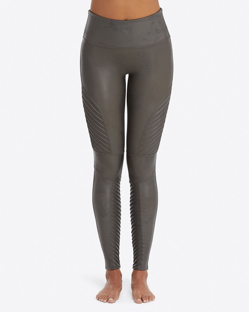 0538086f0d2 Moto Leggings - Women s Black Faux Leather