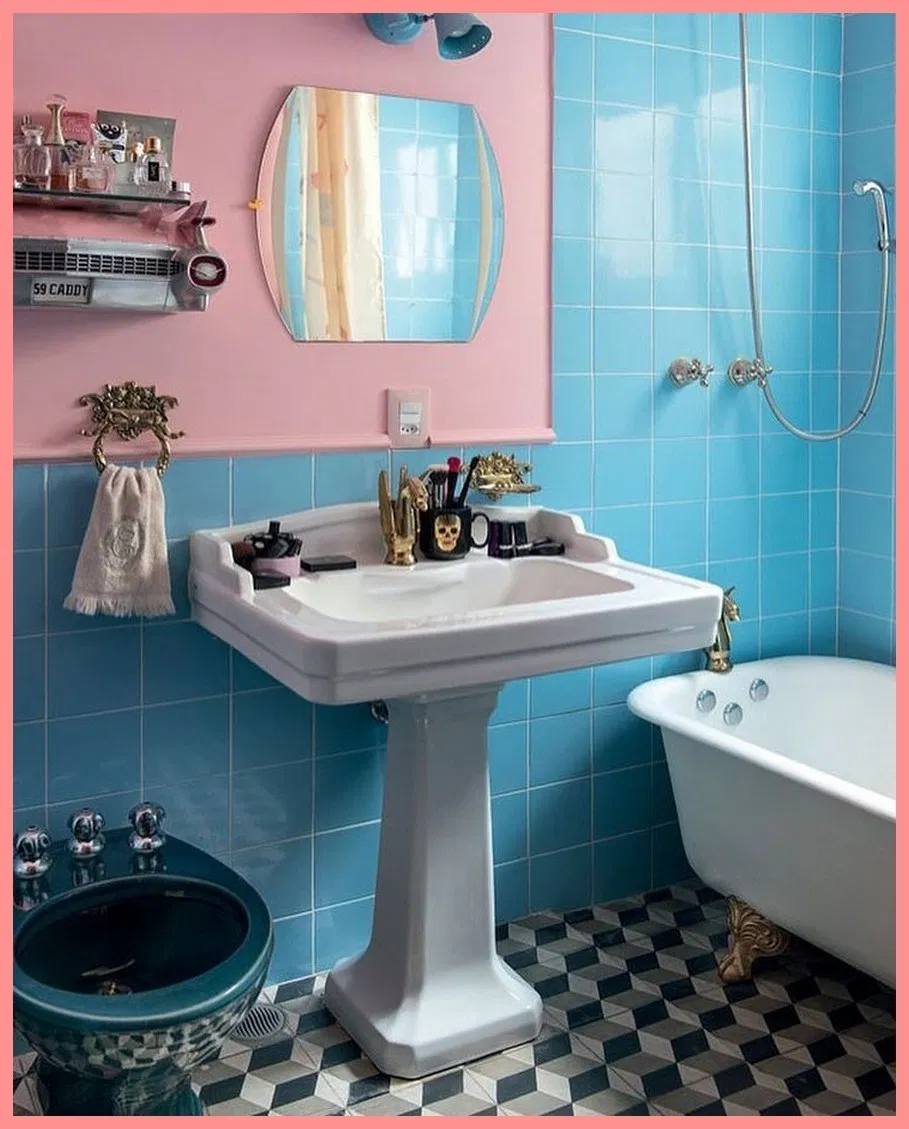 47 Charming Colorful Bathrooms Ideas to Inspire You This ...