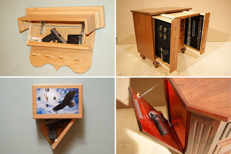 New jersey concealment furniture creates deceptive designs for Hidden storage ideas