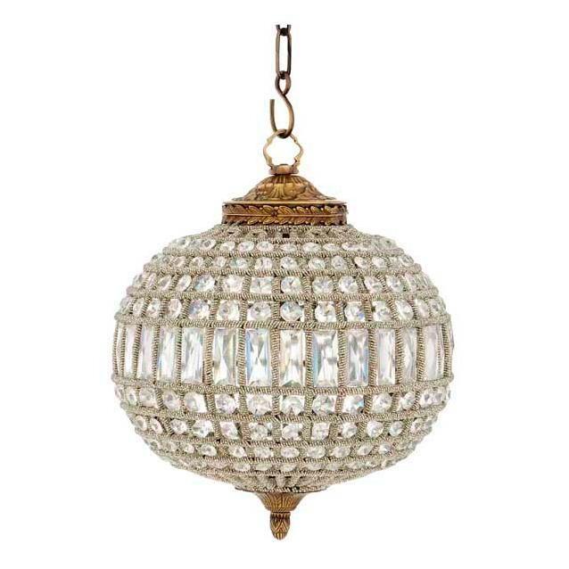 Crystal Oval Chandelier Eichholtz Kasbah S Lampe Hangend