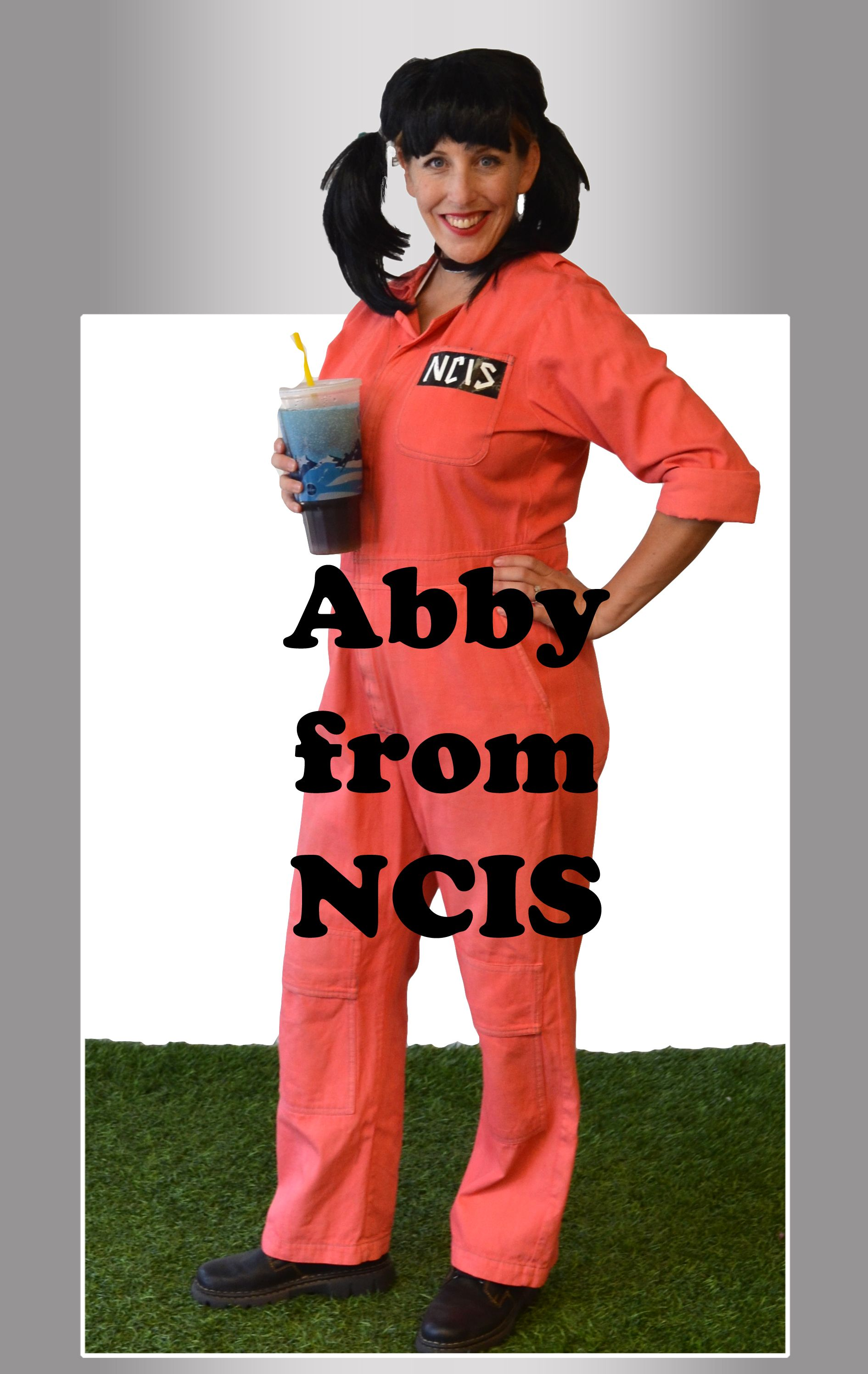 Easy, last minute, DIY costume, using coveralls and a few