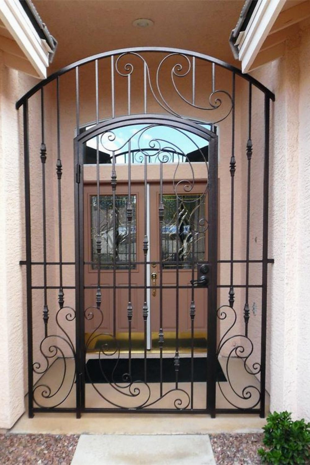 Most Unique Iron Doors Loft Everything You Need To Know 130 Modern Irondoors Design Homedesignideas Iron Doors Security Door Design Wrought Iron Doors