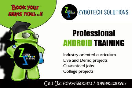 Android development course in DUCAT targets engineers who
