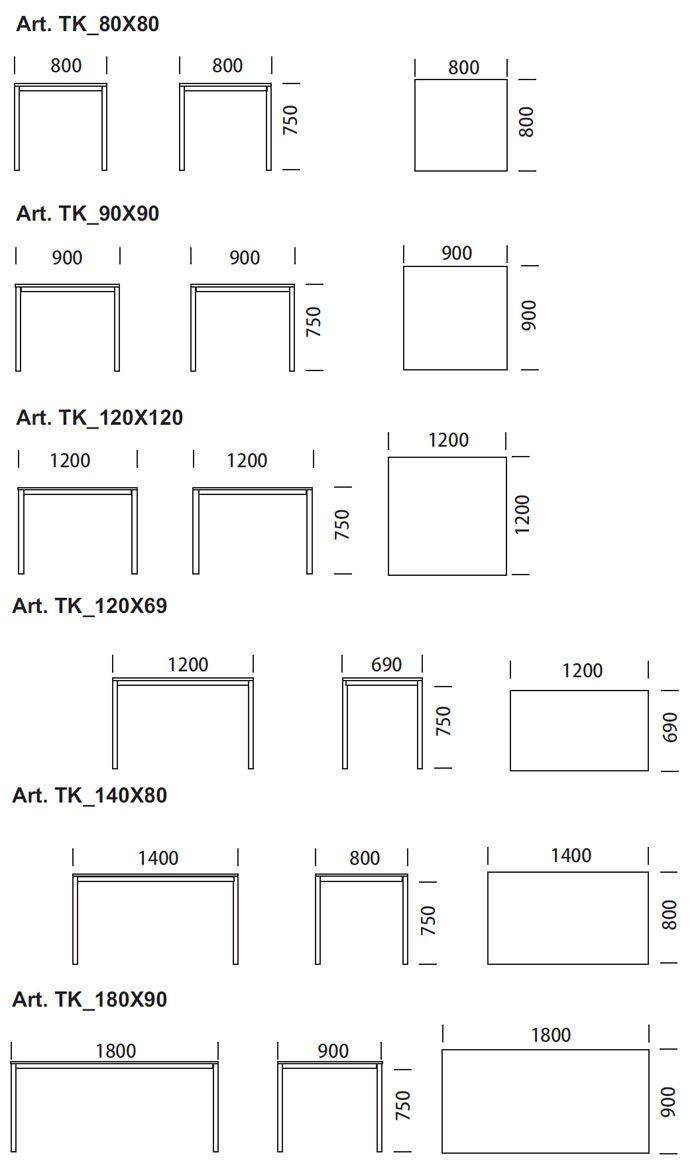 Medidas mesa de bar estructura pinterest mesas de for Mesa 8 personas medidas
