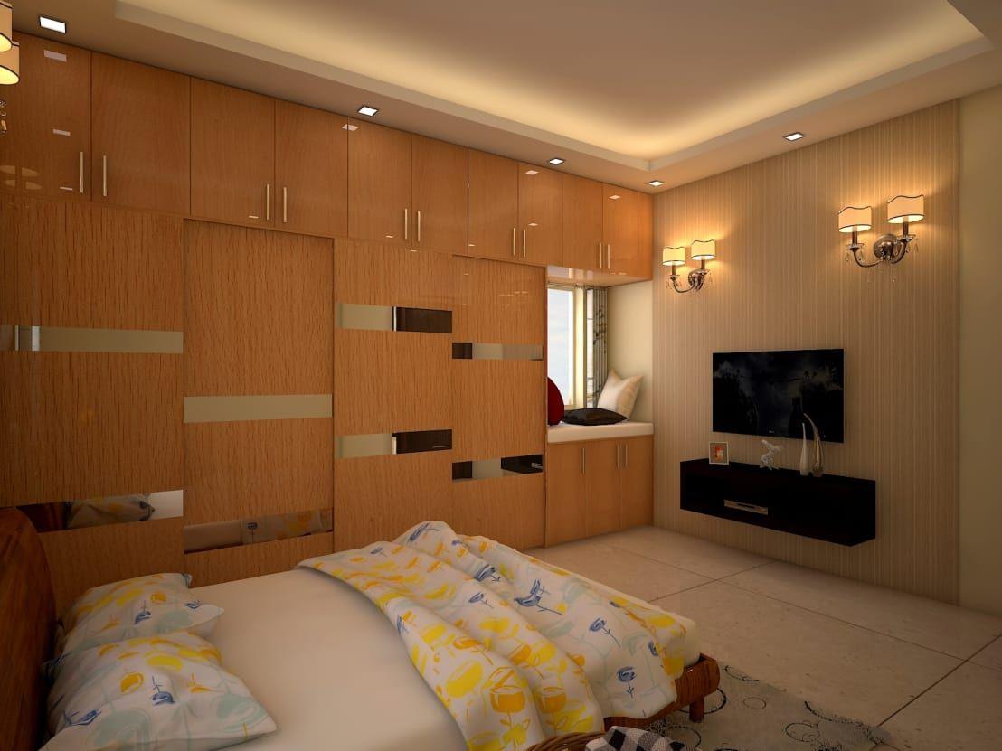 wall drop design bedroom design | modern style bedroom