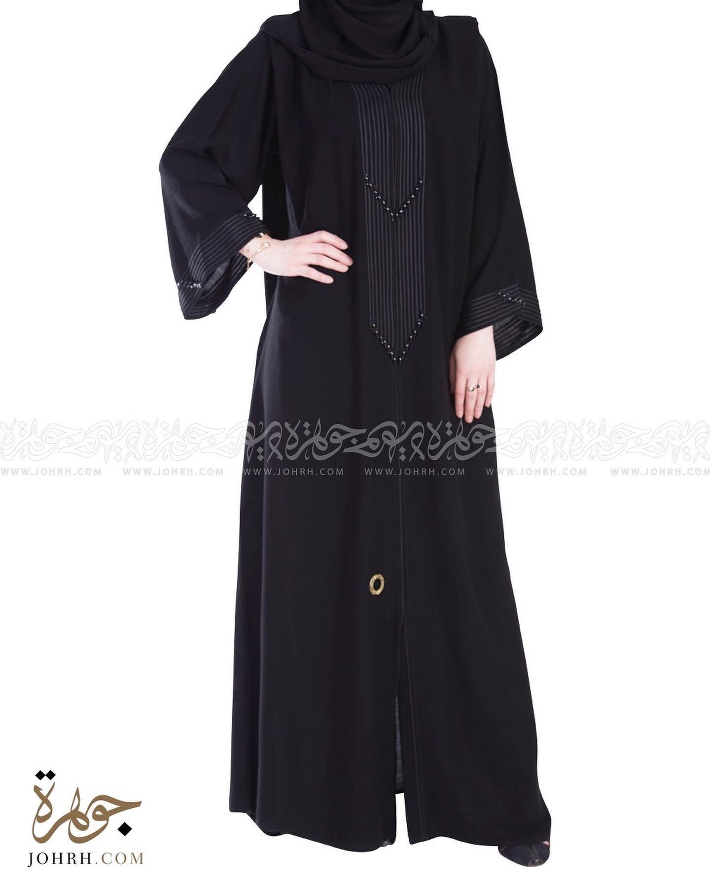 رقم الموديل 1438 السعر بعد الخصم 250 ريال عباءة مميزة بتصميم رائع وقماش لينين والقيطان الذي يأتي على الصدر Dresses With Sleeves Fashion Long Sleeve Dress