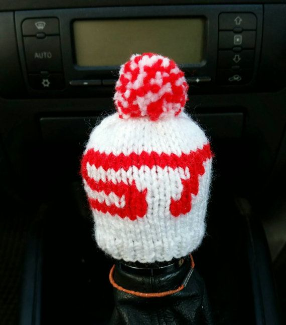 567e16a1150 Ford ST Gear Knob Beanie Hat by NutkinsKnits on Etsy