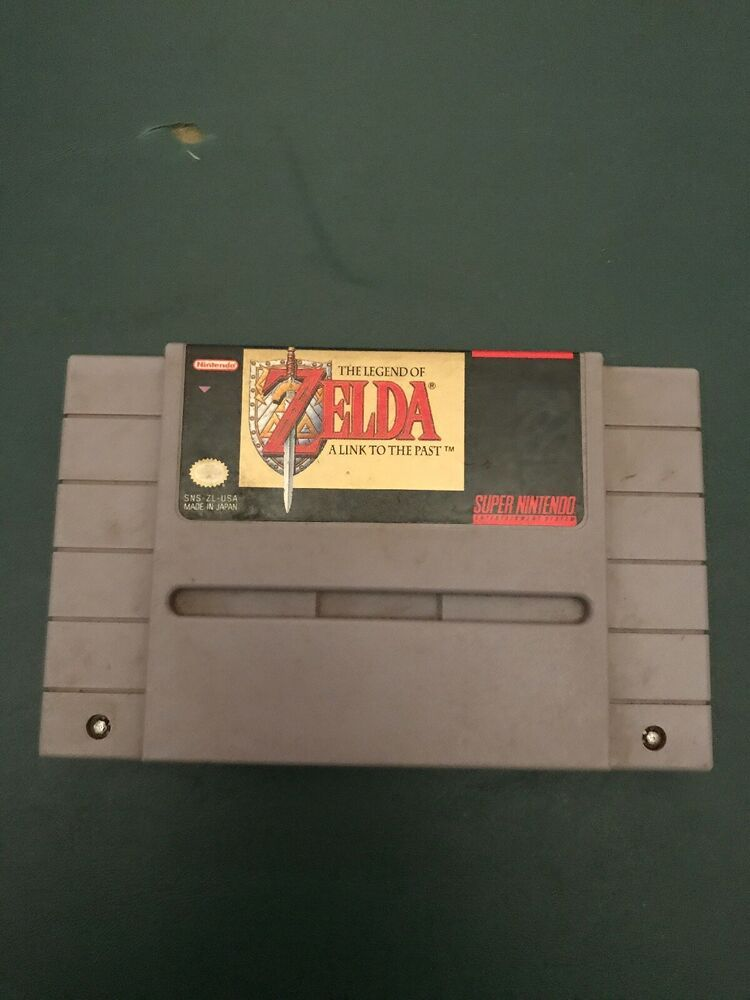 The Legend of Zelda A Link To The Past (Authentic)(Super