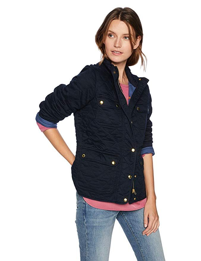 ce96fea9d1494b J.Crew Mercantile Women s Quilted Field Jacket
