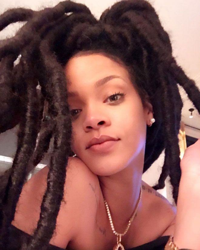 Rihanna'nın Rastalı Saçları