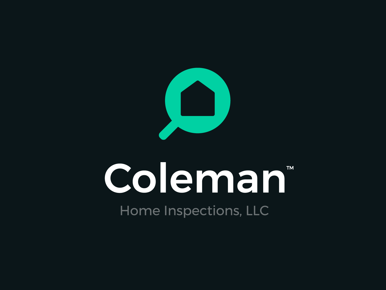 Coleman Home Inspections Logo Option1 Home Inspection Inspect Coleman