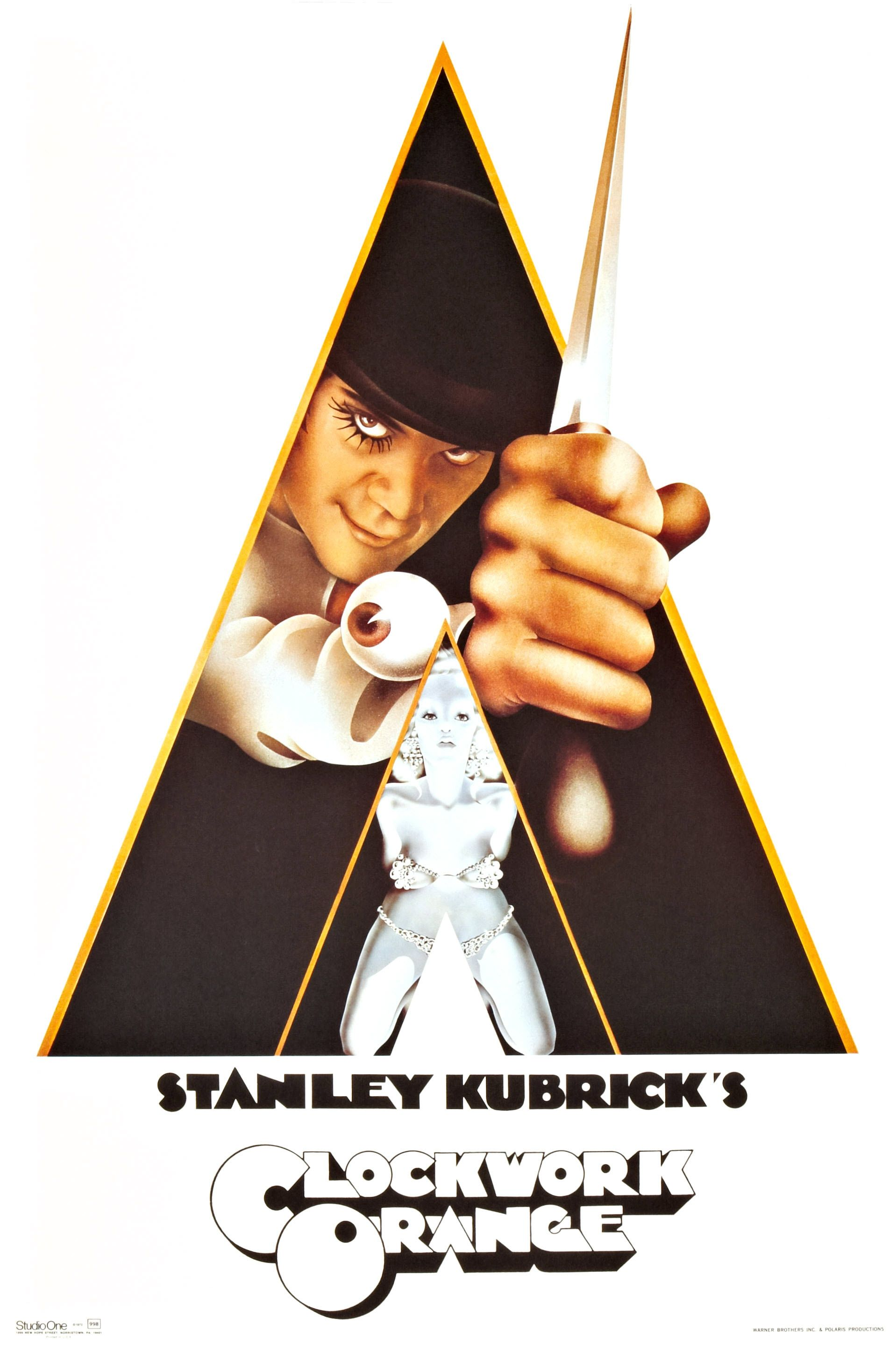 clockwork orange movie poster - Pesquisa do Google   T en ... A Clockwork Orange Movie Poster Original