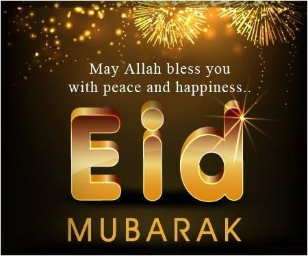 Wish You All a Very Happy and Peaceful Eid #HappyEidMubarak