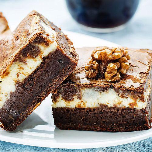 Photo of Saftige Brownies mit Frischkäse – Low-Carb-Rezept ohne Zucker