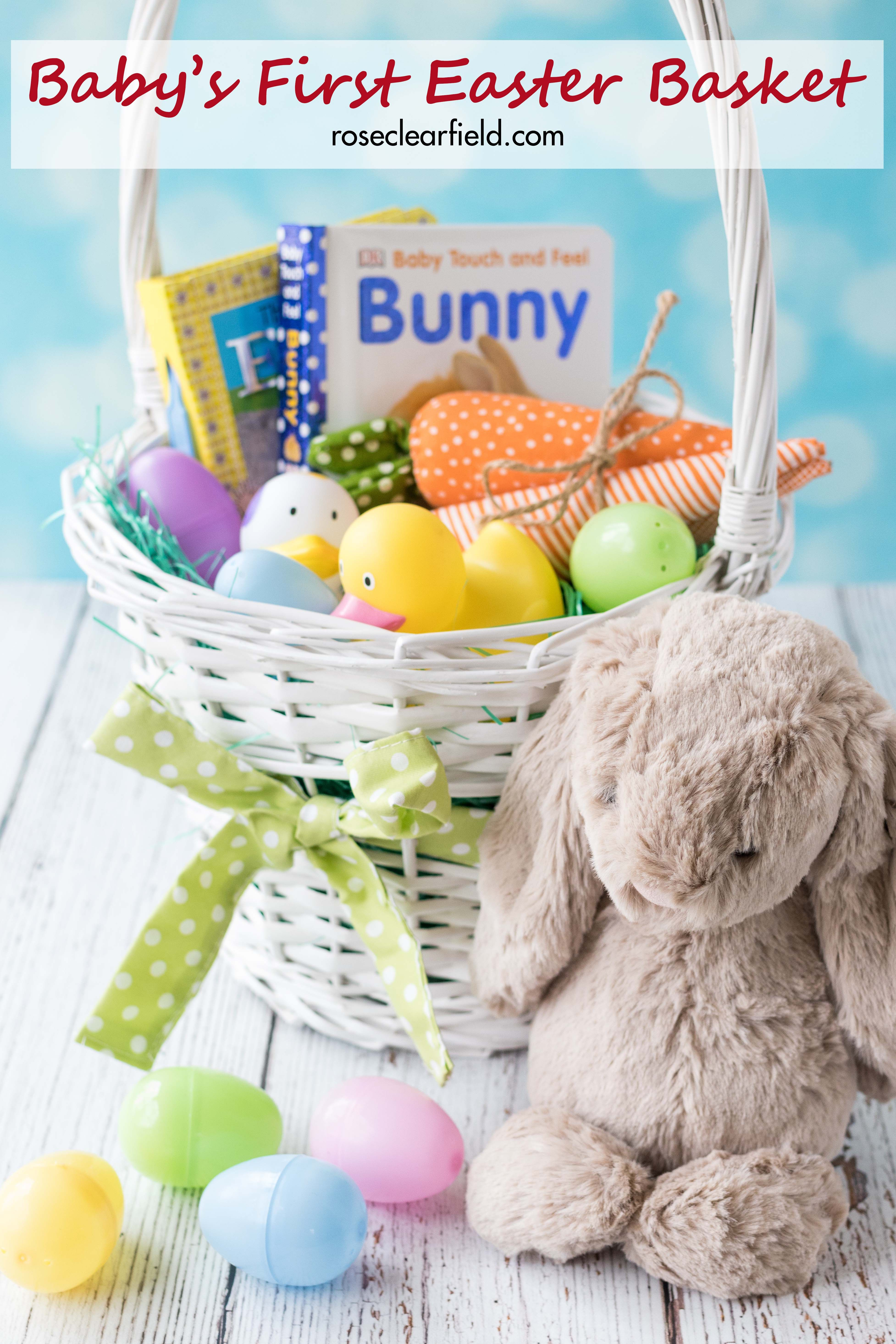 Babys first easter basket negle Image collections