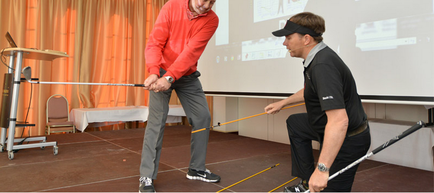A Lesson In How To Improve Your Golf Swing – The Stack and Tilt Method