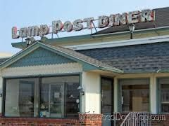 Breakfast At The Lamp Post Diner North Wildwood